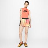 Nike Women's Sportswear Mesh Tie-Dye Watermelon Training Shorts