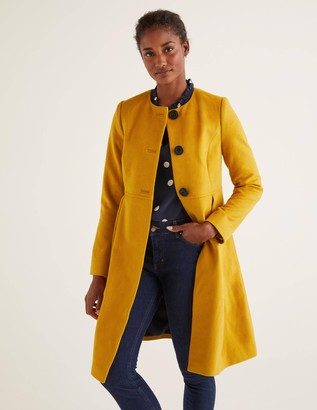 Christie Collarless Coat