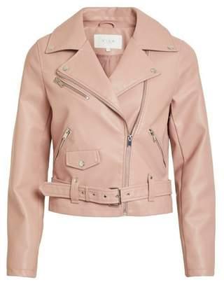 Dorothy Perkins Womens **Vila Pink Cropped Jacket, Pink