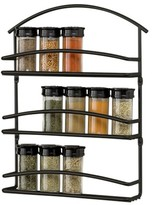 Spectrum Wall Mount Spice Rack - Black