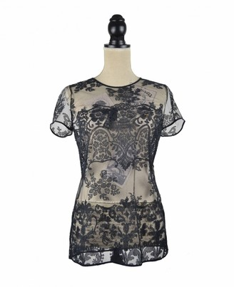 Burberry Black Lace Top for Women