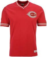 Mitchell & Ness Men's Cincinnati Reds Coop Overtime Vintage Top