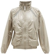 adidas by Stella McCartney Zipped Shell Windbreaker Jacket - Womens - Green