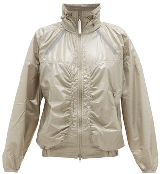 adidas by Stella McCartney Zipped Shell Windbreaker Jacket - Womens - Green