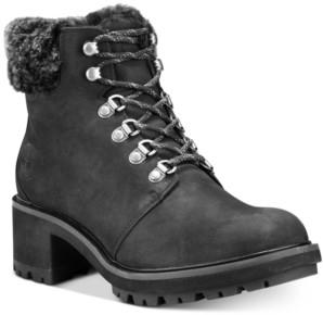 Timberland Women's Kinsley Hiker Waterproof Leather Lug Sole Boots Women's Shoes