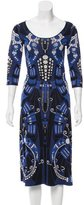 Temperley London Patterned Midi Dress