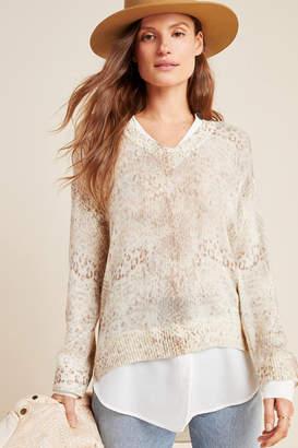 Brochu Walker Serpentine Layered Sweater