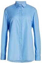 The Row Big Sisea Swiss Cotton Shirt