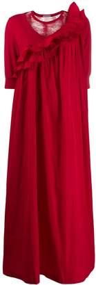 Undercover long-length ruffle dress