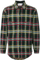 Pringle knitted check shirt
