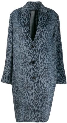 OMC leopard-print coat