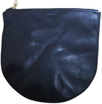 Baggu Navy Leather Purses, wallets & cases