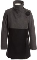 JC de CASTELBAJAC Grey Wool Coat for Women