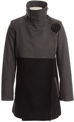 JC de CASTELBAJAC Grey Wool Coats