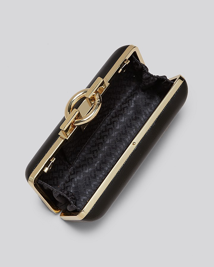 Diane von Furstenberg Clutch - Sutra Clasp Embossed Lizard Leather