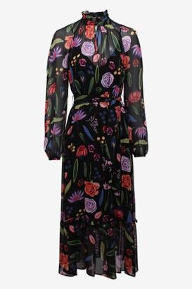 Baum und Pferdgarten Antoinette Dress in Black Hampton Garden - XS | viscose