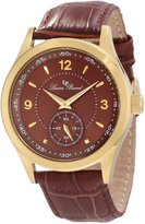 Lucien Piccard Men's 11606-YG-04 Grande Casse Gold-Tone Stainless Steel Watch