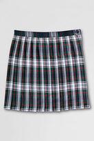 Lands' End School Uniform Girls' Pleated Plaid Skirt