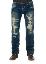 Cult of Individuality Hagen Relaxed Pepper Wash Jeans