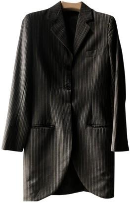 Romeo Gigli Black Wool Jacket for Women Vintage