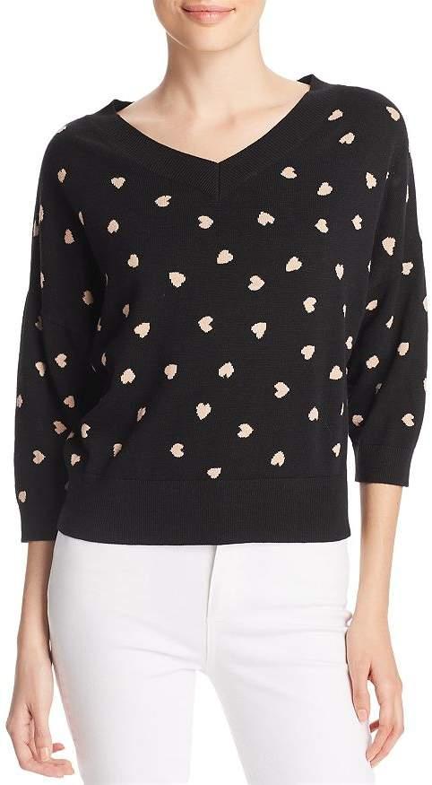Kate Spade Heartbeat Patterned Sweater