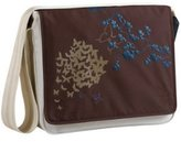 Lassig Casual Messenger Diaper Bag, Butterfly Choco by