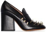 Marni Piercing-embellished loafer pumps
