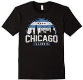 Chicago Skyline Shirt Silhouette IL City Gift T-Shirt
