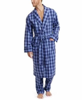 Nautica mens Men's Cotton Plaid Woven Pant Pajama Bottom
