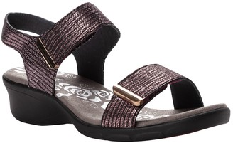 Propet Leather Slingback Sandals - Winslet