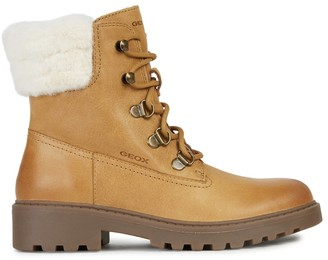 Geox Kids Casey Leather Boots