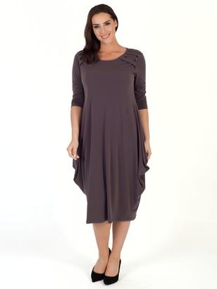 Chesca Tuck Detail Jersey Dress