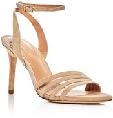 Halston Kelly Ankle Strap High Heel Sandals