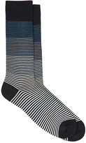 Paul Smith Men's Sweet Graduation Cotton-Blend Mid-Calf Socks