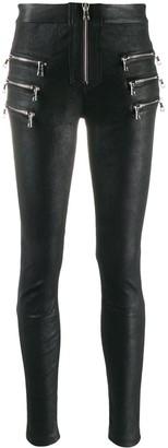 Unravel Project Slim Biker Trousers