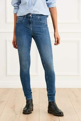 Next Womens Mid 360 Super Skinny Jeans - Blue