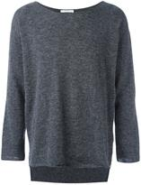 Societe Anonyme raw edge tail hem jumper