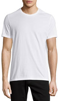Vince Short-Sleeve Crewneck Jersey T-Shirt, White