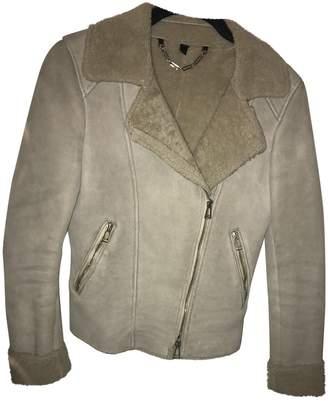 Belstaff Beige Shearling Jackets
