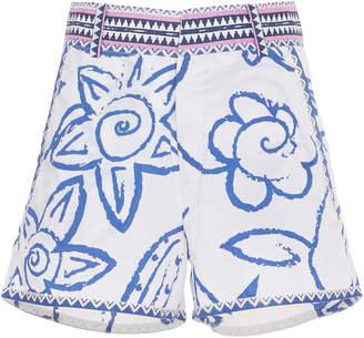 Le Sirenuse Positano Paisley Mini Shorts