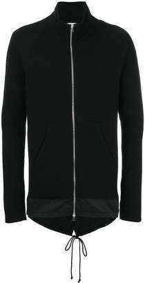 Lost & Found Rooms kangaroo pockets zipped sweatshirt
