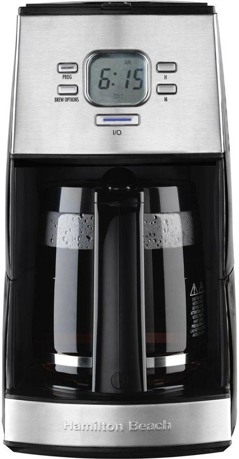 Hamilton Beach Ensemble 12-Cup Coffeemaker in Black