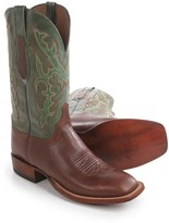 Lucchese Buccaneer Cowboy Boots - Square Toe (For Men)