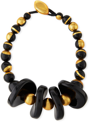 Viktoria Hayman Murano Resin Collar Necklace