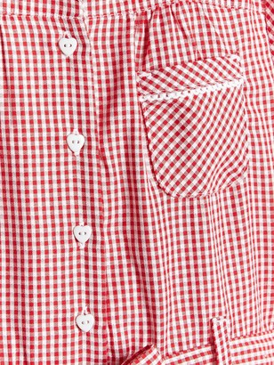 Very Girls 2 Pack Traditional Gingham School Dress - Red