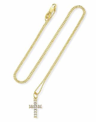 Andrea Fohrman Diamond Cross Necklace