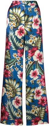 F.R.S For Restless Sleepers floral trousers