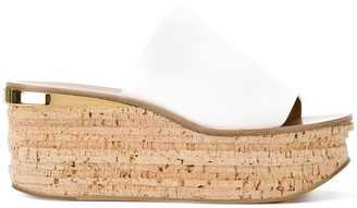 Chloé Camille wedge mules