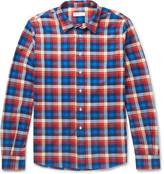 Etro - Checked Cotton-flannel Shirt