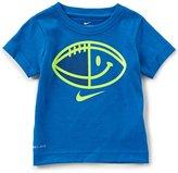 Nike Little Boys 2T-7 Smiley Football Short-Sleeve Tee